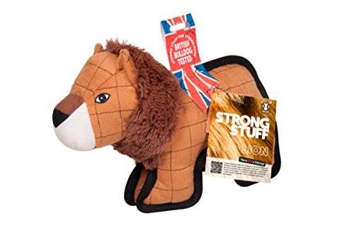Sharples Strong Stuff Lion Dog Toy